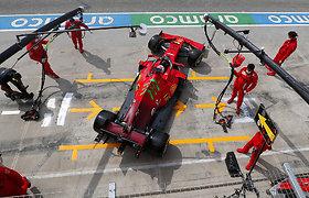 """""""Formulės 1"""" kvalifikacija Imoloje"""