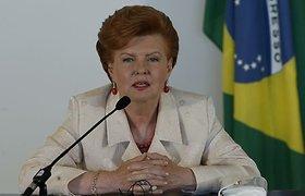 """Buvusi Latvijos prezidentė V.Vykė–Freiberga neina į politiką, nes negali surinkti """"žvaigždžių komandos"""""""