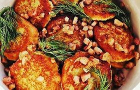 """""""Aurimėlio virtuvės"""" receptas: puikūs tarkuotų ir virtų bulvių blynai"""