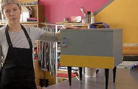 """""""Pasidaryk pats"""": videopamoka, kaip seną baldą prikelti naujam gyvenimui"""