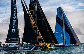 Klaipėdoje – galingų jachtų varžybos