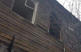Gaisras Kuliuose: šeimos liko be namų