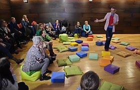 Bibliotekų savaitė Klaipėdoje: nuo žaislų dirbtuvių iki sodininkystės