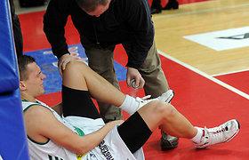 Lenkijos krepšinio pirmenybėse Valdas Dabkus įmetė 7 taškus
