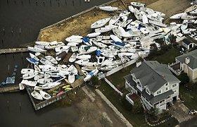 Sandy uraganas: negyvėlis rastas po daugiau nei pusės metų