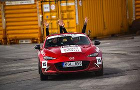 """""""Mazda MX-5"""" Press ralyje"""