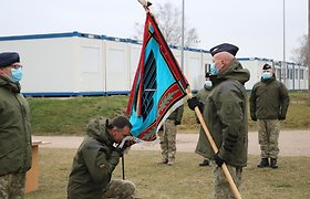 Karinių oro pajėgų Oro gynybos batalionui vadovaus A.Konovalovas