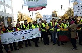 Žemdirbiai vėl protestuos Briuselyje dėl didesnių tiesioginių išmokų