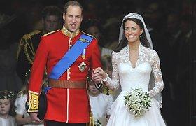 Kembridžo hercogai Williamas ir Catherine mini 10-ąsias vestuvių metines