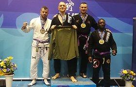 Kaunietis iškovojo braziliško džiu-džitsu Europos aukso medalį