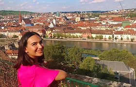 Lietuvoje gyvenanti azerbaidžanietė Nazrin Aliyeva