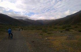 Pirmasis ekspedicijos dviračiais per Himalajus etapas