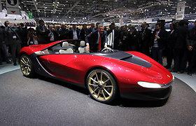 """""""Pininfarina Sergio"""" bus gaminamas vos kelių vienetų tiražu"""