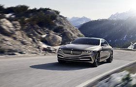 """Bendras BMW ir """"Pininfarina"""" projektas – """"Gran Lusso V12 Coupe"""""""