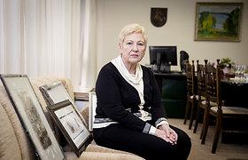 Seimą paliekanti Irena Degutienė