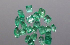 Rusijos Urale rastas retas 1,6 kg smaragdas