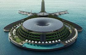 Prabangaus viešbučio Katare vizija
