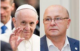 Kauno meras V.Matijošaitis išvyko į Vatikaną – sulaukė kvietimo pas popiežių
