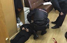"""Rusijos radijo stotyje """"Echo Moskvy"""" užpulta žurnalistė Tatjana Felgengauer"""