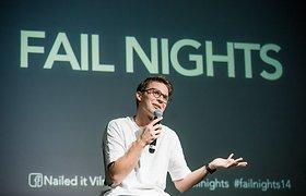 Fail Nights. Atsidūrus ant katastrofos slenksčio išgelbėjo Dž.Butkutės kūryba