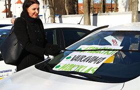 Šiaulių vairavimo mokyklų protestas