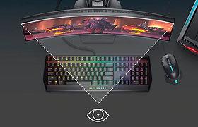 """""""Dell"""" monitoriai ir nešiojamieji kompiuteriai – produktyviam darbui ir puikiai žaidimų patirčiai"""
