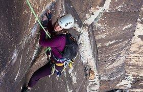 Jurgos aistra – laipiojimas uolomis