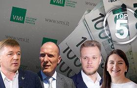 Turtingiausių Lietuvos politikų TOP 5: Landsbergių turtas augo kartais, Karbauskio – 50 proc.