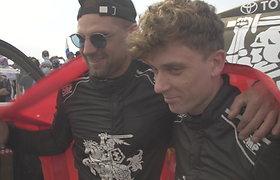 """Dakaro finišą pasiekę E.Juškauskas: """"Faina būti čia"""""""