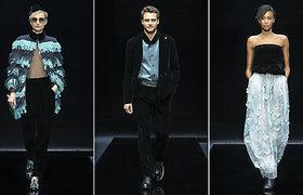 """Milano mados savaitėje pristatytoje """"Giorgio Armani"""" kolekcijoje – elegancijos ir patogumo dermė"""