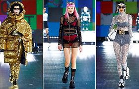 "Ant ""Dolce & Gabbana""  podiumo – lietuvė Ugnė Gelgotaitė"