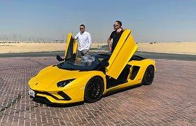 SEL ir Soliaris pristato Dubajuje filmuotą klipą