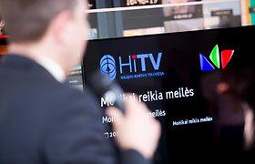 """Hibridinės televizijos """"HiTV"""" pristatymas"""