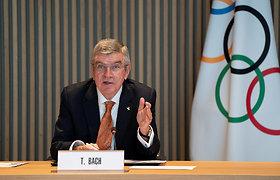 IOC prezidentas perrinktas antrai kadencijai