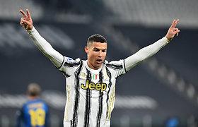 Laikui nepavaldus C.Ronaldo metus pradėjo fantastišku ir pergalingu pasirodymu