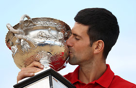 ATP reitingas: N.Džokovičius pakartojo R.Federerio rekordą, R.Berankis vėl smuktelėjo žemyn