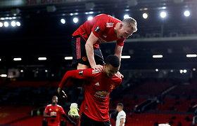 """Europos lygos pusfinaliuose – įspūdingas """"Man United"""" fejerverkas ir """"Arsenal"""" nesėkmė"""