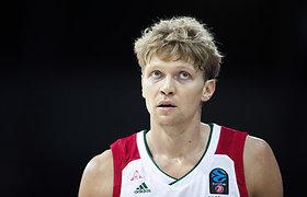 """Fantastiškas atkrintamųjų startas: M.Kuzminskas nukalė """"Loko"""" pergalę prieš rusišką """"Chimki"""""""