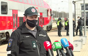 Policija pristatė prevencinę priemonę, skirtą asmenų judėjimo tarp savivaldybių kontrolei