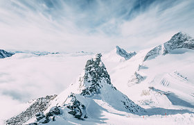 Prancūzijos Alpėse per stebuklą išgyveno į sniego griūtį patekęs vyras