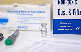 Prezidentūra mato rizikų dėl vakcinų kaupimosi sandėliuose