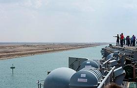 Sueco kanalo valdyba pranešė, kad kanale susidariusi spūstis jau išsisklaidė