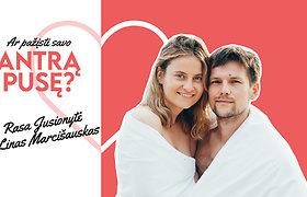 """Viena kūrybingiausių porų Rasa ir Linas – apie vestuves, meilės kalbą ir """"nelabai legalų"""" pirmąjį bučinį: apsaugininkui praskaidrinome naktį"""
