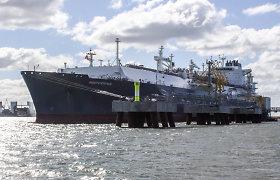 Į Klaipėdą plaukia naujas SGD krovinys iš JAV