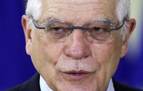 """S.Lavrovo Maskvoje pažemintas ES diplomatijos vadovas J.Borrellis aiškina: """"Nusprendžiau nesiginčyti"""""""