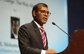 Buvęs Maldyvų prezidentas po pasikėsinimo nuskraidintas gydyti į Vokietiją