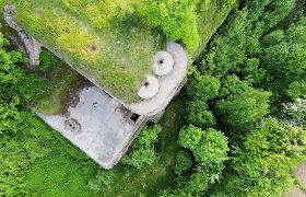 Paaiškėjo, kad griovyje rastas nepilnametis nukrito nuo Kauno 2-ojo forto sienos