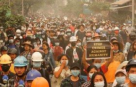 JAV ragina JT Saugumo Tarybą imtis veiksmų dėl Mianmaro