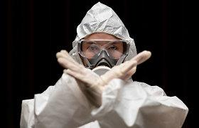 Gvinėjoje paskelbtas Ebolos viruso epidemijos pavojus