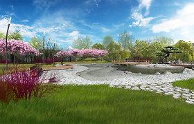Klaipėdoje startavo milijono eurų vertės Sakurų parko projektas
